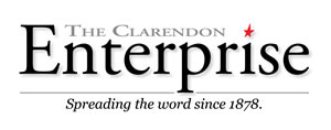 Clarendon Enterprise Nameplate
