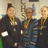 CHS students place in academic meet