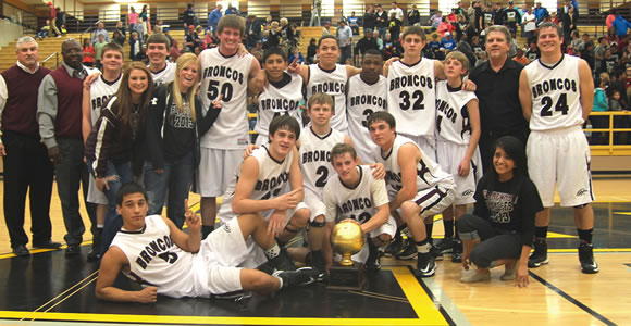 The 2013 Area Champion Clarendon Broncos. For more information see related story on page three. Enterprise Photo / Kari Lindsey