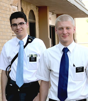 Missionaries For The Church Of Jesus Christ Latter Day Saints